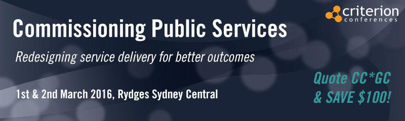 Commissioning Public Services