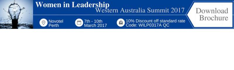The 4th Annual Women in Leadership Western Australia Summit 2017