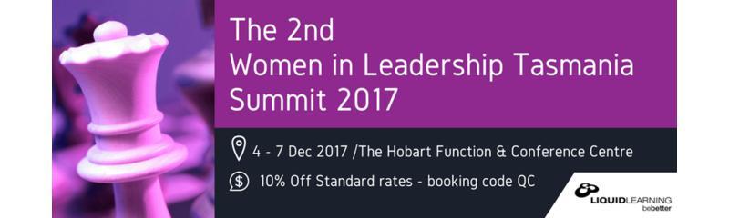 The 2nd Women in Leadership Tasmania Summit 2017