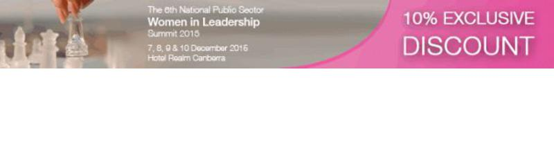 The 6th National Public Sector Women in Leadership Summit 2015