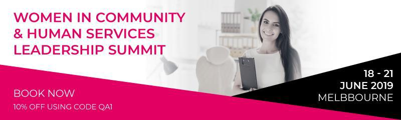 Women in Community & Human Services Leadership Summit