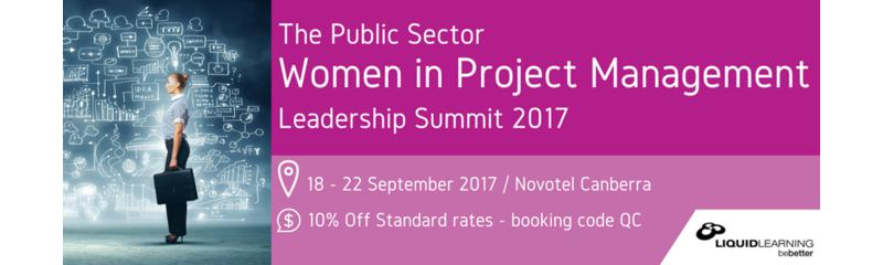 The Public Sector Women in Project Management Leadership Summit 2017
