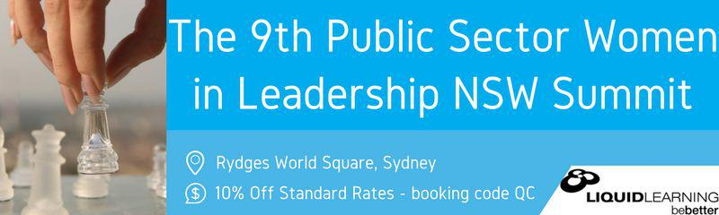 9th Public Sector Women in Leadership NSW Summit