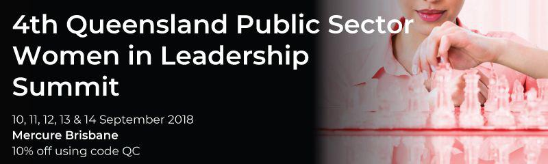 4th Queensland Public Sector Women in Leadership Summit