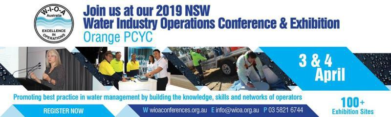 13th WIOA NSW Water Industry Operations Conference and Exhibition